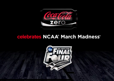 National :30 Spot – NCAA March Madness – Coke Zero & Turner Broadcasting