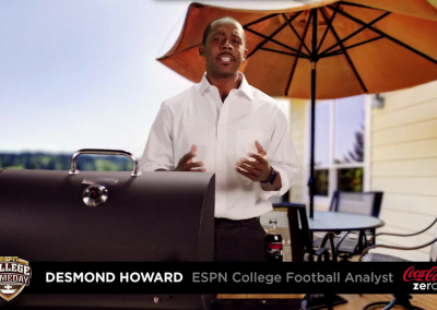 Desmond Howard Vote Now Video – Coke Zero & Kroger Family of Stores