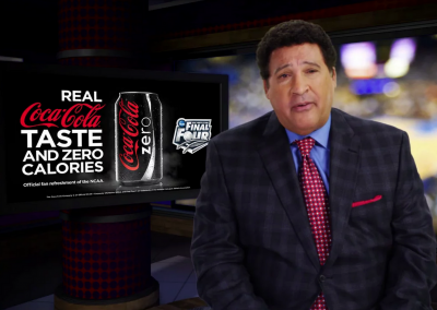 Greg Gumbel's Favorite Final Four Memories – Coke Zero & Kroger Family of Stores