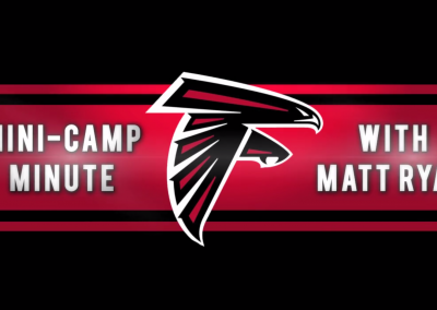 Mini Camp Minute with Matt Ryan – Atlanta Falcons