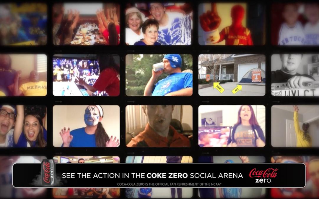 Coke Zero Presents the Real Fans of March Madness Social Media Bumper – CBS