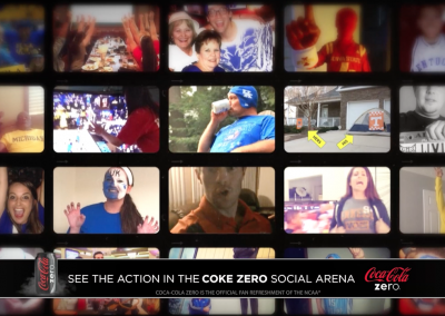 Coke Zero Presents the Real Fans of March Madness Social Media Bumper – CBS