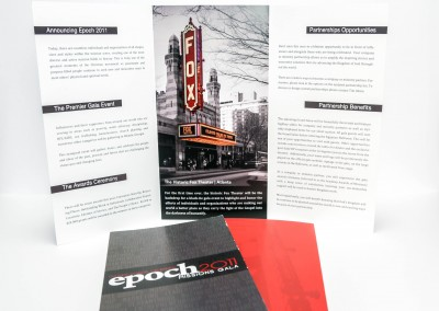 Corporate Partnership Brochure – Epoch Missions Gala
