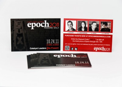Event Rave Card – Epoch Missions Gala