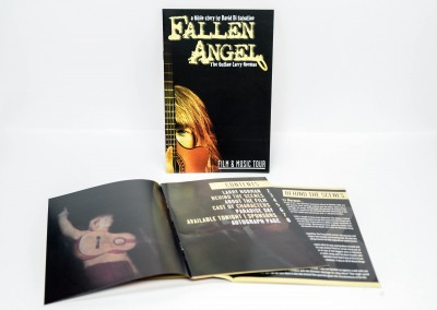 Film Tour Event Book – Fallen Angel Movie