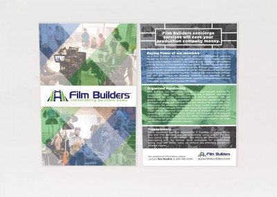 Services Rave Card – Film Builders