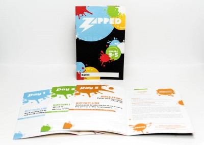 Zapped VBS/Camp Booklet – Orange