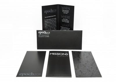 Event Invitation Set – Epoch Missions Gala