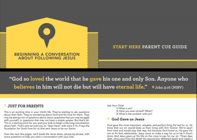 Start Here Parent Cue Guide