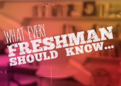 What Every Freshman Should Know – WebMD & The JED Foundation