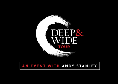 Deep and Wide Conference Title Package Treatment – Andy Stanley